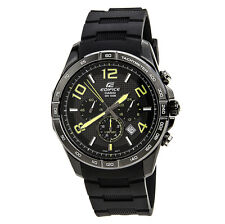 CASIO EDIFICE Men EFR-516PB-1A3 Black Dial 3subdial Resin Band