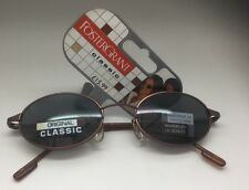 FOSTER GRANT CLASSIC UNISEX SUNGLASSES BROWN DESIGN OVAL 30094  MODEL