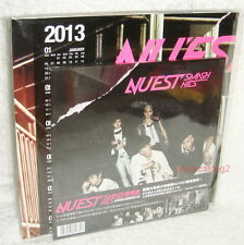 NU'EST SMASH HITS Taiwan Ltd CD+Poster+Card (Mini Album Action & Face)
