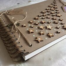 Handmade Personalised Memory Book/ Scrapbook/ Photo Album/ Guestbook A4 Luxury