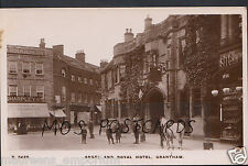 Lincolnshire Postcard - Angel and Royal Hotel, Grantham   A2592