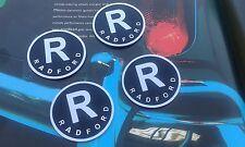 Rover Mini Cooper S Aston Martin Esmalte Radford insignias raro DB5 MPI centro de rueda