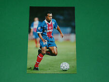 PHOTO CARTE PATRICE LOKO PARIS SAINT-GERMAIN PSG 1997 1998