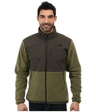 NEW The North Face Men's Denali Jacket Olive Black Fleece New Sz M Polartec NWT