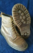 Dr. Doc Marten's Brown Leather 8 eyelet Boots  U.S. SIZE 6.5 / EUR 39.5