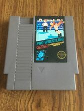 Pro Wrestling - Nintendo NES Video Game Cartridge Only Tested & Working GAME