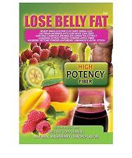 Lose Belly Fat Flush Plus + Raspberry Flavor Belly Flush
