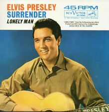 ★☆★ CD Single Elvis PRESLEY Surrender 2-track CARD SLEEVE Lonely Man  ★☆★
