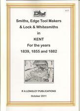 Blacksmiths, Edge Tool Makers & Farriers A-Z in Kent 1839-1882 [Kelly's] A4