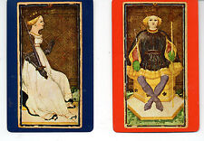 Congress Playing Cards 606 The Queen of Swords King of Clubs Complete Decks VTG