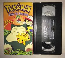 Pokemon Vol. 13: Wake Up Snorlax! (VHS, 2000) RARE
