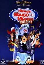 Mickey's House of Mouse Villains * NEW DVD *