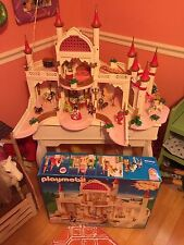 Playmobil 4250 Fairytale Magic Castle Lot with Extras Palace box w/ 5873