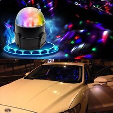 Car Disco DJ Stage Lighting LED RGB Crystal Ball Lamp Bulb Light Effect Party