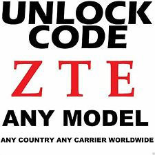 ZTE Factory Unlock Code Service Bell Mobility Rogers Videotron Fido Telus Canada