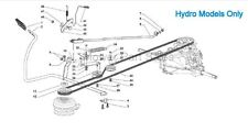 Hydro Transmission Drive Belt Mountfield 1538H, SD98, Stiga & Lawnking Alpina