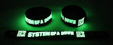 System of a Down  Glow in the Dark Rubber Bracelet Wristband Chop Suey! gg182
