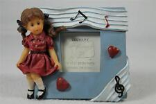 Sweet Cakes Series - Picture Frame - Girl Listening To Music  #SW88493 NEW!