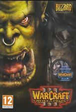 Warcraft III 3 Gold Reign of Chaos and Frozen Throne War Craft PC MAC Brand New