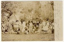 SÜDAFRIKA - INTERESSANTE FOTOKARTE 1904 (88)