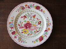 "MASON'S ""Regency"" Patent Ironstone China  Red  1920-30's  dinner plate 10.5"""