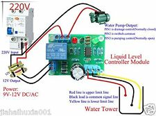 9V-12V AC/DC Auto Liquid Level Controller Module Water Level Detection Sensor