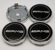 4  Caches Jante moyeux - Centre de roue Boulon  - Mercedes Benz - AMG - 60mm