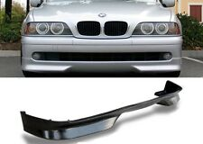 2001-2003 E39 5 SERIES EURO TECH FRONT BUMPER LIP SPOILER AIR DAM PU AERO KIT