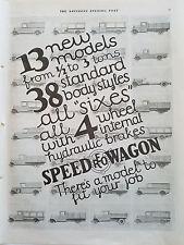 1928 REO Speed Wagon Speedwagon Trucks 13 New Models Truck Ad