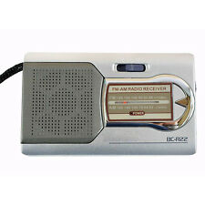 Mini Pocket Radio  AM/FM Radio World Receiver with Telescopic antenna Hot