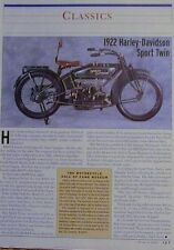 1922 HARLEY-DAVIDSON SPORT TWIN Classics Article