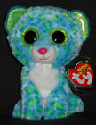 TY BEANIE BOOS BOO'S - LEONA the LEOPARD- MINT with MINT TAGS