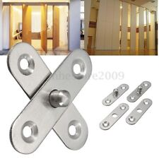 56mm L Hardware Stainless Steel 360 Degree Rotating Door Pivot Hinge Tone Rotary