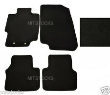 FIT FOR 2004-2008 ACURA TL BLACK NYLON CARPET FLOOR MATS