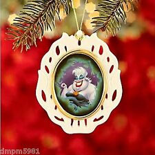 Lenox Disney Villains Little Mermaid URSULA Ornament NEW IN BOX