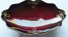Carlton Ware England Rouge Royal Serving/Plate Bowl Vintage