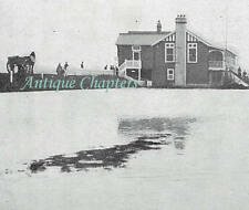 Littlehampton Golf Club Course Flooded 1913 Photo Article 9928