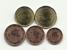 mini serie 1 / 2 / 5 / 10 / 20 Cents  ESTONIE 2011 neuves ( U N C )