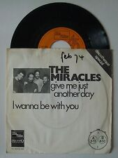 "7"" The Miracles Give Me Just Another Love Holland Ps Motown 1973 Lee Hi"