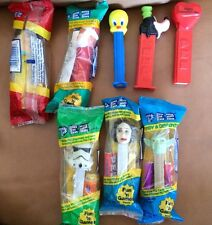 Lot of 11 Pez Dispensers - Star Wars - Valentines - Disney - Flinstones - Yoda-