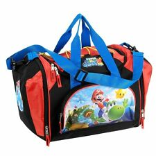 Nintendo Super Mario Galaxy 2 Mini Duffel Bag - Black/Red