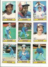 1979 Topps Montreal Expos Baseball Card Lot (23 Different)