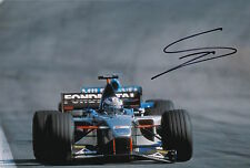 Stephane Sarrazin Hand Signed 12x8 Photo Fondmetal Minardi Ford F1 1.
