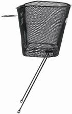 """M-Wave Bicycle Cycle Bike Basic Wire Basket For 1"""" Headset Black"""