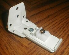 """3"""" White Wall Bracket for Forest Group Drapery Track Contract System 53202-25"""