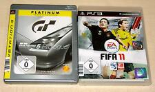 2 PLAYSTATION 3 SPIELE SET - FIFA 11 & GRAN TURISMO 5 PROLOGUE - PS3