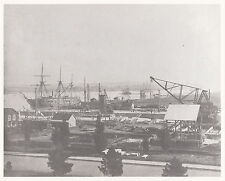 EARLY VIEW ~ MARE ISLAND NAVAL SHIPYARD ~ c. - 1895