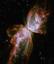 Butterfly Nebula NASA Hubble Space Telescope astronomy print picture &FREE PHOTO