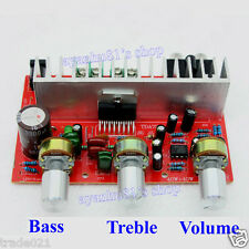AC/DC 12V TDA7377 35W x2 Digital Audio Power Amplifier Board 2.0CH Treble Bass A