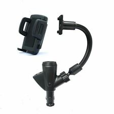 Dual USB Car Cigarette Lighter Charger Phone Mount Holder for Galaxy S3/4/5/6/7